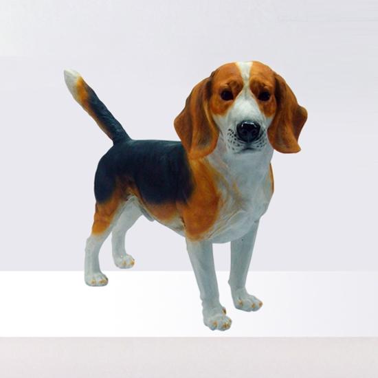 Etonnant Resin Beagle Dog