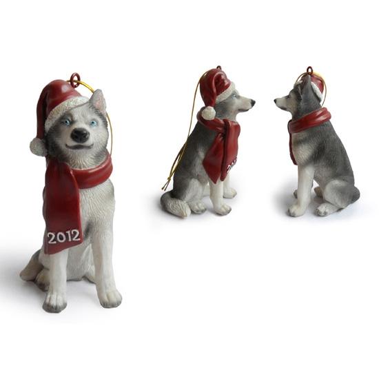 Siberian Husky Hanging Christmas Tree Ornaments,Christmas Trees ...