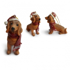 Dachsund Christmas Tree Ornaments