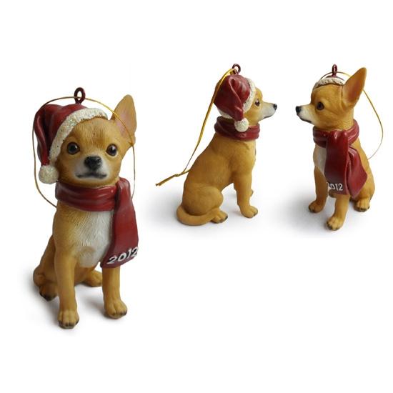 Chihuahua Christmas Tree Ornaments - Chihuahua Hanging Christmas Tree Ornaments,Christmas Trees Decor For
