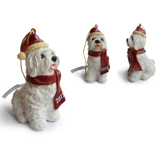 Maltese Hanging Christmas Tree Ornaments,Christmas Trees Decor For Sale