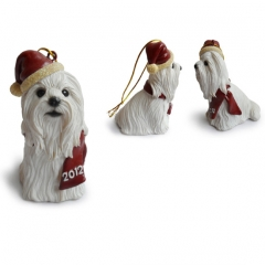Lhasa Christmas Tree Ornaments