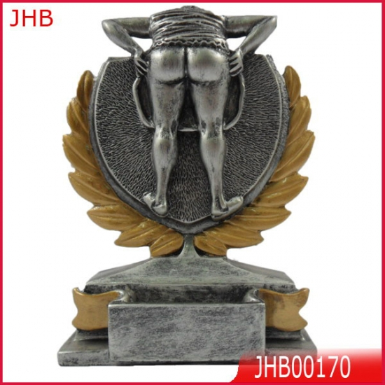 Resin Funny Trophies For Trophy Store Polyresin Sport Trophy