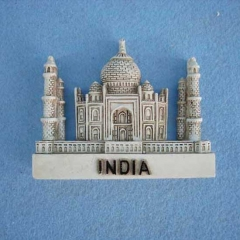 Taj Mahal building fridge magnets india