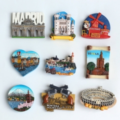 Custom 3D Resin Fridge Magnets