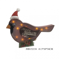 Happy Holiday Iron bird