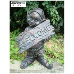 Resin gome Welcome Sign
