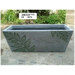 rectangle fiber planter